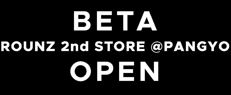 rounz 2nd store @pangyo beta open